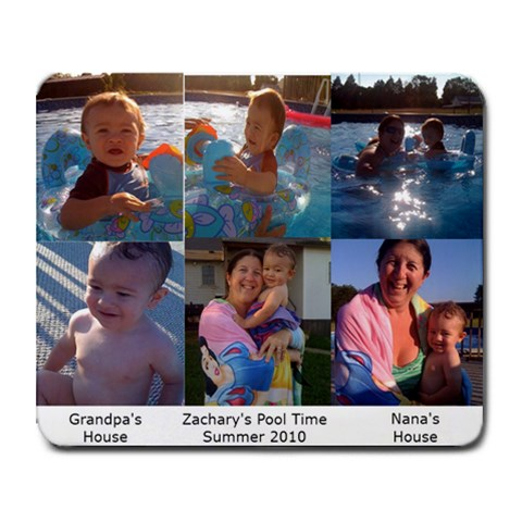 Zachary Mouse Pad 2010 By Tammyjo Hurd   Collage Mousepad   03g94s39kvnl   Www Artscow Com 9.25 x7.75  Mousepad - 1