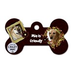 Mias Tag - Dog Tag Bone (Two Sides)