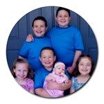 The kids - Round Mousepad
