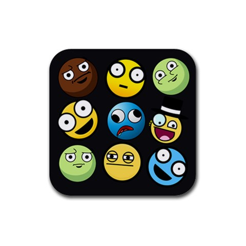 Coaster5 By Omar Sabbagh   Rubber Coaster (square)   Paotufdeqklu   Www Artscow Com Front