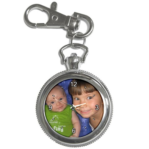 Nikola And Oliver Watch  By Hedvika Smith   Key Chain Watch   64cqllk6kn49   Www Artscow Com Front
