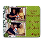 Christmas gift for Dave s Parents - Large Mousepad