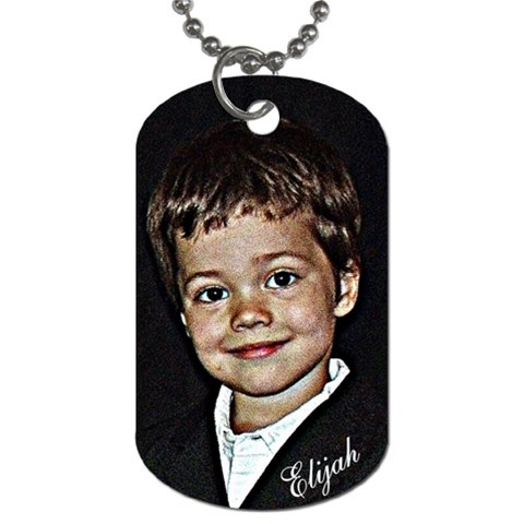 Eli Dogtag By Keri   Dog Tag (one Side)   Am4vbi92ra4d   Www Artscow Com Front
