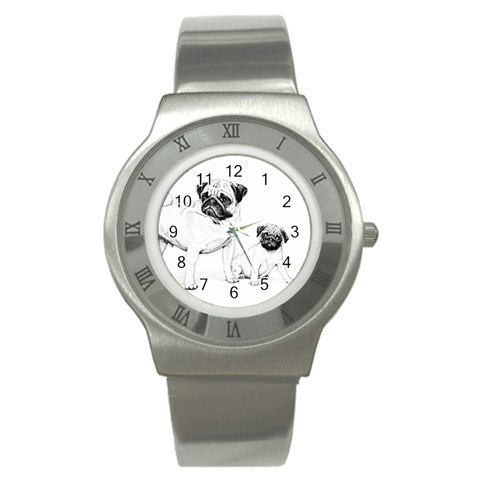 Scroll Watch By Janie   Stainless Steel Watch   G9t0vlbyjn53   Www Artscow Com Front