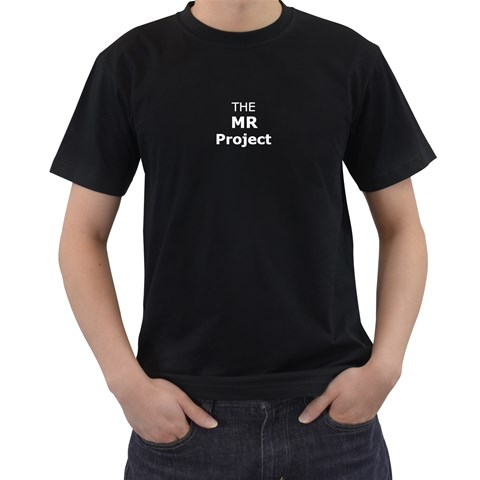 Mr Project T Shirt By Michael Matney   Men s T Shirt (black)   Vmhx3zydc23k   Www Artscow Com Front