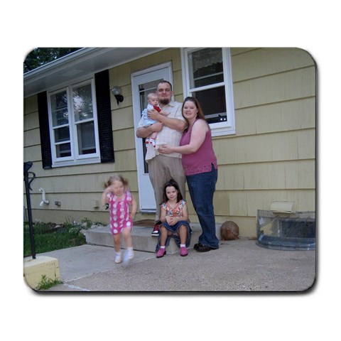 Nooo Lily!!!! Wait   Ahh By Krista Schraufnagel   Large Mousepad   Ypo04s8lnqji   Www Artscow Com Front