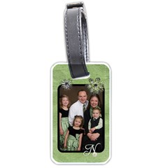 Family Luggage Tag By Jessica Navarro   Luggage Tag (two Sides)   Y5wi2v8mtyvg   Www Artscow Com Front