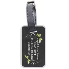 Family Luggage Tag By Jessica Navarro   Luggage Tag (two Sides)   Y5wi2v8mtyvg   Www Artscow Com Back
