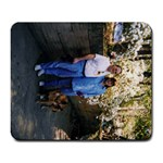 Mark, Me, and Lexie - Large Mousepad