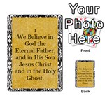 Article of Faith _prophets_revised2 - Multi-purpose Cards (Rectangle)