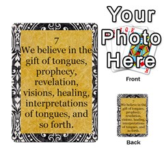Article Of Faith  Prophets Revised2 By Thehutchbunch Fuse Net   Multi Purpose Cards (rectangle)   V2i7qirvt2ns   Www Artscow Com Front 7