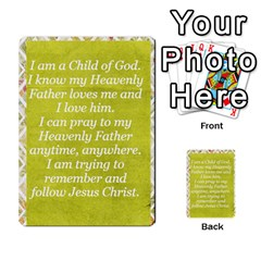 Article Of Faith  Prophets Revised2 By Thehutchbunch Fuse Net   Multi Purpose Cards (rectangle)   V2i7qirvt2ns   Www Artscow Com Back 29