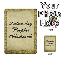 Article Of Faith  Prophets Revised2 By Thehutchbunch Fuse Net   Multi Purpose Cards (rectangle)   V2i7qirvt2ns   Www Artscow Com Front 32