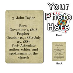 Article Of Faith  Prophets Revised2 By Thehutchbunch Fuse Net   Multi Purpose Cards (rectangle)   V2i7qirvt2ns   Www Artscow Com Back 35