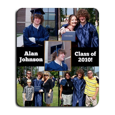 Graduation Mousepad By Tracey   Collage Mousepad   1p635crexhhy   Www Artscow Com 9.25 x7.75 Mousepad - 1