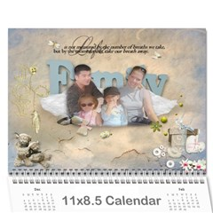 Our Calendar 2010 By Ramona   Wall Calendar 11  X 8 5  (12 Months)   Tzd7p0e9pfux   Www Artscow Com Cover