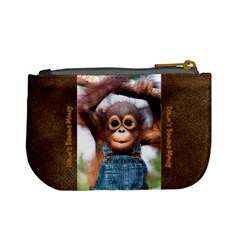 Monkey Coin Purse For Dawn By Debra Macv   Mini Coin Purse   0yg7yy0e726g   Www Artscow Com Back