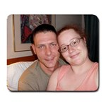 Daniel and I in Huntsville - Large Mousepad