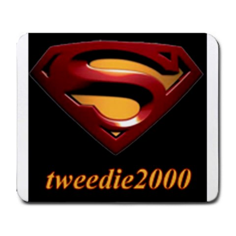 Tweedie2000 (superman) By Steven Tweedie   Collage Mousepad   Lzqmmug97y2a   Www Artscow Com 9.25 x7.75 Mousepad - 1