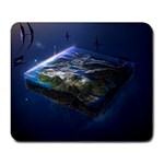 Space Spectrum - Large Mousepad