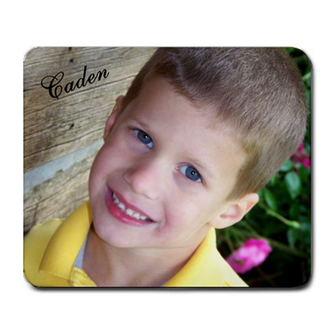 Caden Mousepad By Gina Keeton   Collage Mousepad   Kh2chpiiot7r   Www Artscow Com 9.25 x7.75 Mousepad - 1