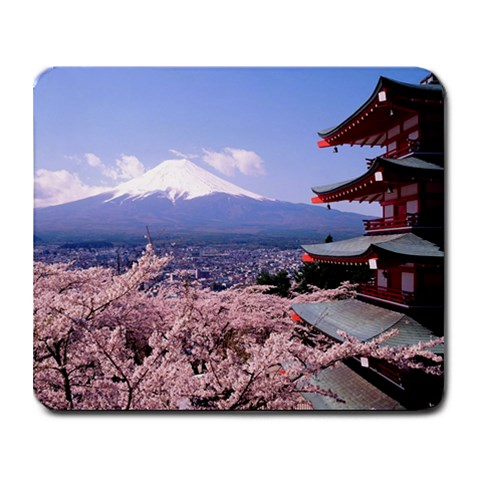 Japan By Amanda Leaman   Collage Mousepad   Dj486ikdfwgm   Www Artscow Com 9.25 x7.75 Mousepad - 1