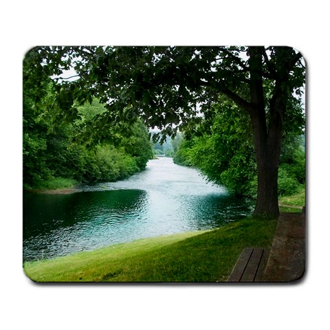 Clarion River By Shai Ringer   Large Mousepad   Iq9ima2035i5   Www Artscow Com Front