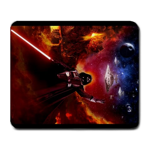 My Star Wars Mousepad  >:] By Brian Chang   Large Mousepad   Lh3zdd0ck6jp   Www Artscow Com Front