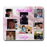 Garza family - Collage Mousepad