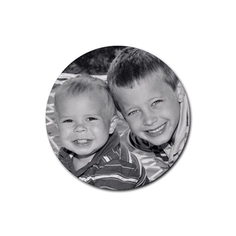 This Is A Coaster I Got Of My Boys! By Nicci Derry   Rubber Coaster (round)   N4gykf4142jp   Www Artscow Com Front