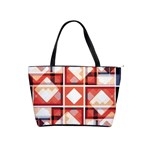 Abstract squares Classic Shoulder Handbag