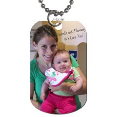Dog Tag For Josh=) By Callie Pinz   Dog Tag (two Sides)   3uxsvjw8e5h9   Www Artscow Com Front