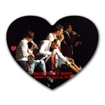 BSB IN DETROIT MOUSEPAD - Heart Mousepad