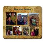 July s mousepad Moe and Nancy - Collage Mousepad