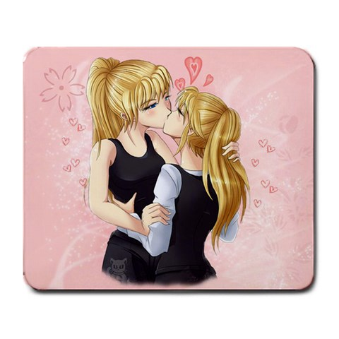 K&a Rectangle Mousepad By Kami Atemu   Large Mousepad   3vgrealv1xfi   Www Artscow Com Front