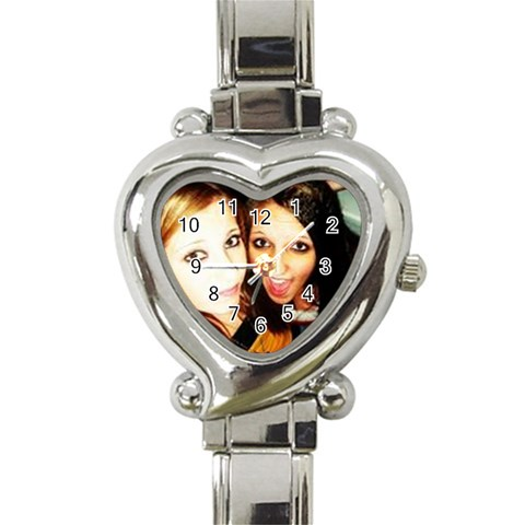 Kids By Dominique   Heart Italian Charm Watch   Jje3iz1swlk8   Www Artscow Com Front