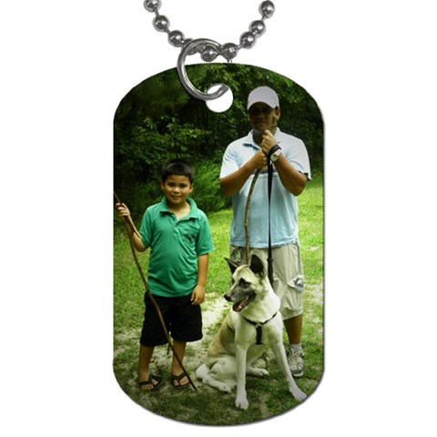 By Crystal Chirinos   Dog Tag (one Side)   Cbopg1i9vq0s   Www Artscow Com Front