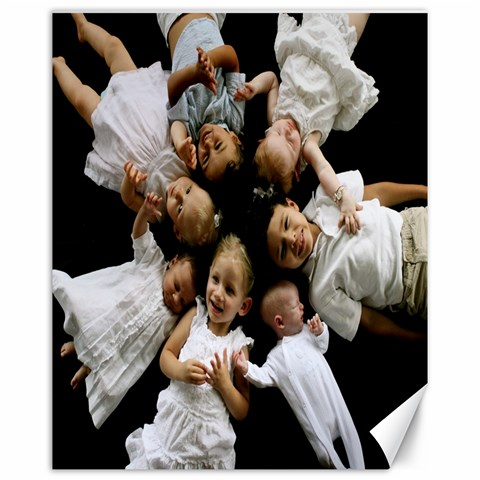 7 Babies In A Wheel By Cheryl   Canvas 16  X 20    Ujxmutpgsxs6   Www Artscow Com 20 x16  Canvas - 1