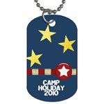 camp holliday1 - Dog Tag (One Side)