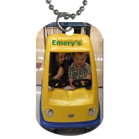 Jaden Tags By Angela Emery   Dog Tag (one Side)   Tug9t1e5u6x1   Www Artscow Com Front
