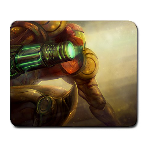 Bounty Hunter By David Davidson   Collage Mousepad   Nlblk11d0myw   Www Artscow Com 9.25 x7.75 Mousepad - 1