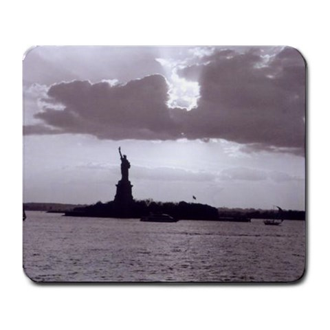 Lady Liberty By Jessrah    Large Mousepad   Cegk41hblu8o   Www Artscow Com Front
