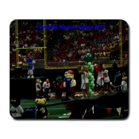 Mascot Mouse Pad By Justin Jolley   Collage Mousepad   I63qn4chrdmt   Www Artscow Com 9.25 x7.75  Mousepad - 1
