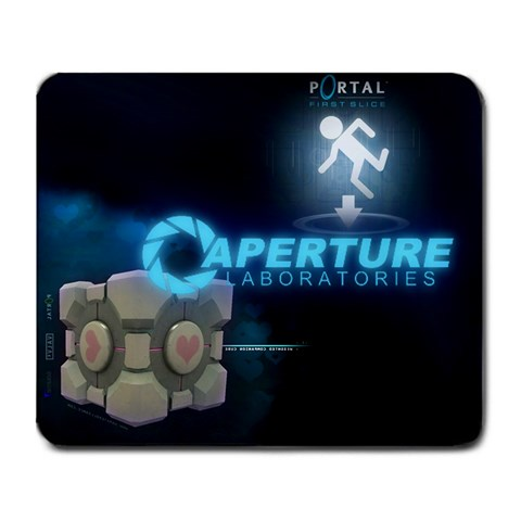 Aperture By Mathew Roomba Ortega   Large Mousepad   8ulrtqkz0wil   Www Artscow Com Front