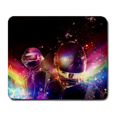 Daft Punk By Bryce Walther   Large Mousepad   Tdvhxcv2d1aj   Www Artscow Com Front