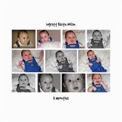 Collages Of Wyatt At 3 Months By Mindy Nolan   Collage 8  X 10    C5isk43kkk5u   Www Artscow Com 10 x8 Print - 2