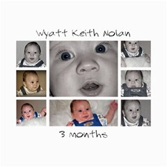 Collages Of Wyatt At 3 Months By Mindy Nolan   Collage 8  X 10    C5isk43kkk5u   Www Artscow Com 10 x8  Print - 3
