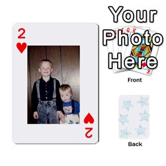 Deck Of Playing Cards By Bonnie Peloquin   Playing Cards 54 Designs   Ncnfu2jaxt62   Www Artscow Com Front - Heart2
