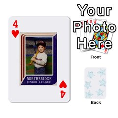 Deck Of Playing Cards By Bonnie Peloquin   Playing Cards 54 Designs   Ncnfu2jaxt62   Www Artscow Com Front - Heart4