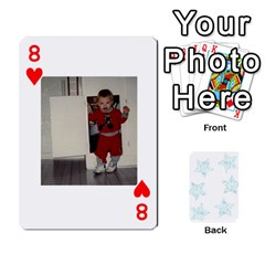 Deck Of Playing Cards By Bonnie Peloquin   Playing Cards 54 Designs   Ncnfu2jaxt62   Www Artscow Com Front - Heart8